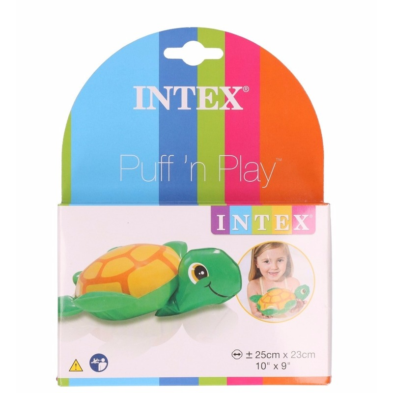 Badspeeltje opblaas schildpadje 20 cm