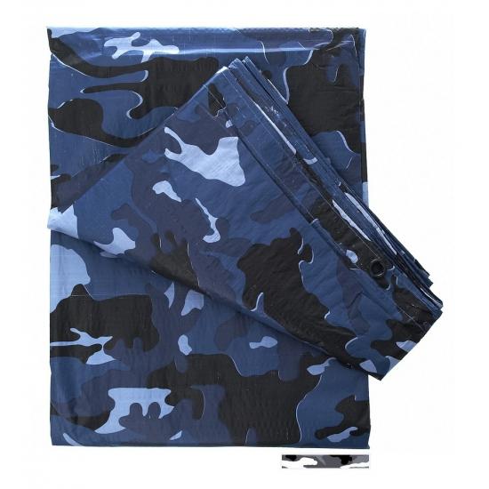 Camouflage afdekzeilen 3 x 2 meter