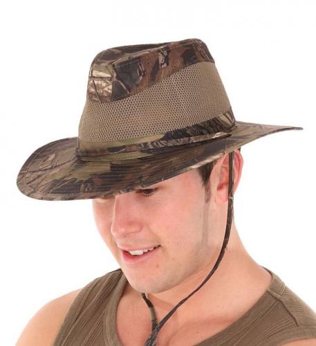 Camouflage hoed voor heren van kantoor artikelen tip.