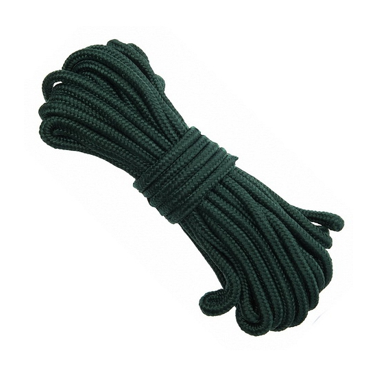 Groen touw 15 meter 9 mm