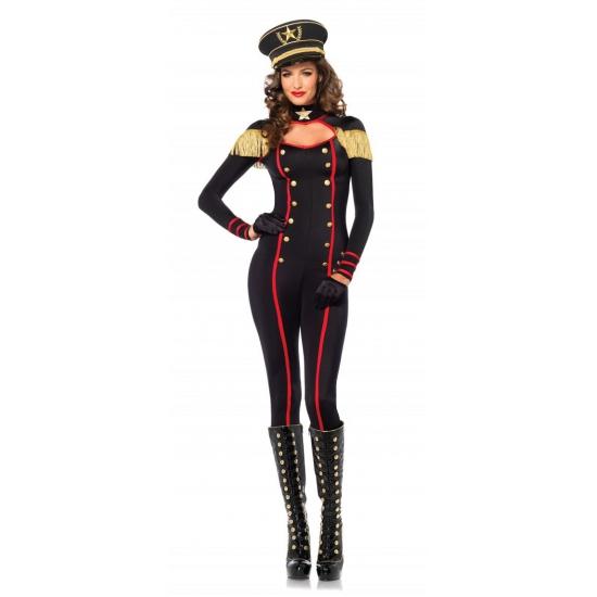 Leg Avenue sexy generaal catsuit voor dames