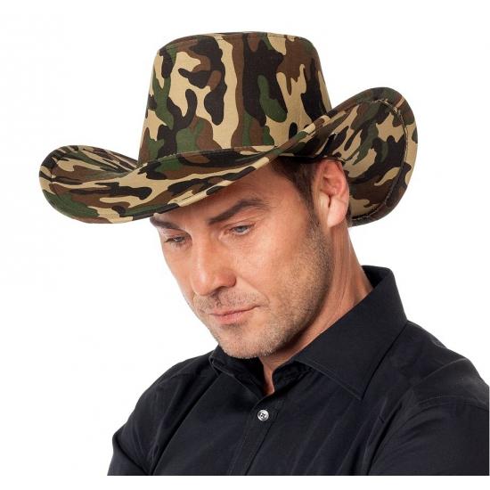 Leger cowboy hoed van kantoor artikelen tip.