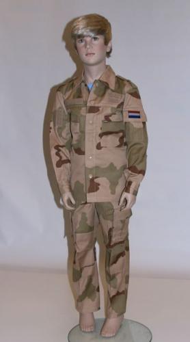 Leger kostuum desert camouflage