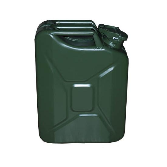 Metalen jerrycan 20 liter