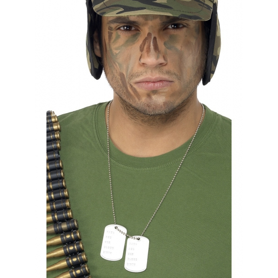 Militairen naam ketting