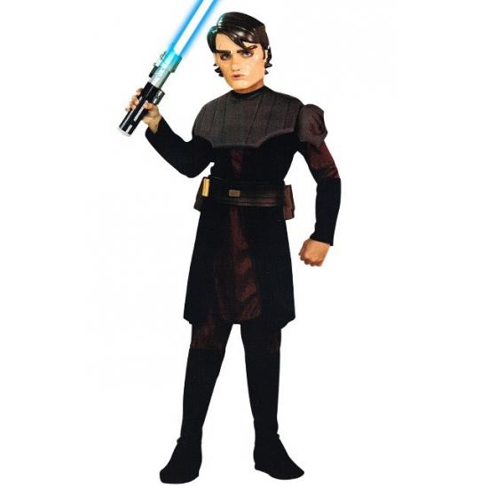 Skywalker kostuum voor jongens. dit complete zwart met grijze skywalker kostuum voor jongens bestaat uit een ...