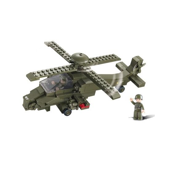 Sluban bouwstenen Gevechtshelikopter van kantoor artikelen tip.