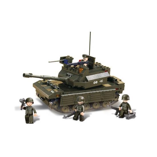 Sluban bouwstenen tank M38-B6500 van kantoor artikelen tip.