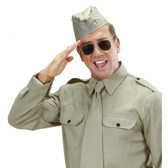Soldaten hoedje voor volwassenen