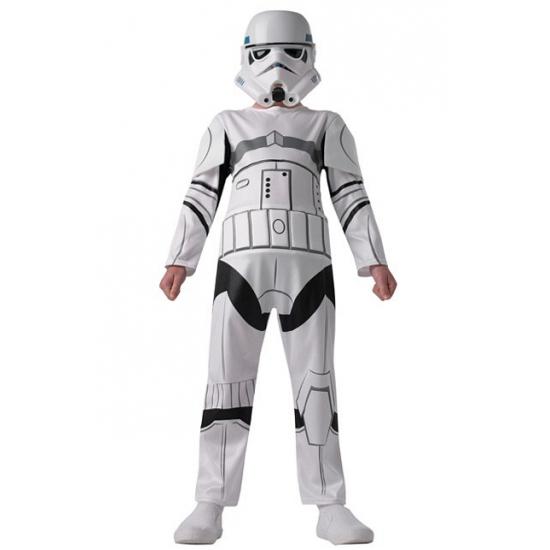 Stormtrooper kostuum deluxe voor kinderen. deze star wars stormtrooper jumpsuit is gemaakt van polyester. ...