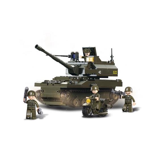 Tank Sluban bouwblokjes