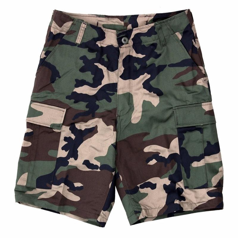 Korte Broek Legerprint Heren.Camouflage Shorts Voor Heren Camouflage Camouflage Korte Broeken