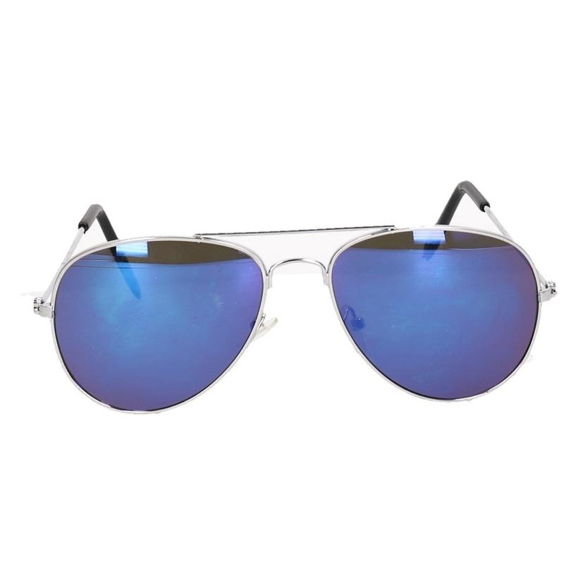e6f9032693e16a Politie zonnebril blauw