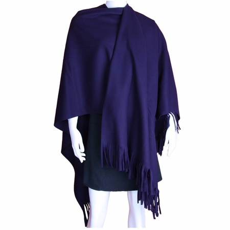 Dames mantel cape poncho paars | camouflage Paarse